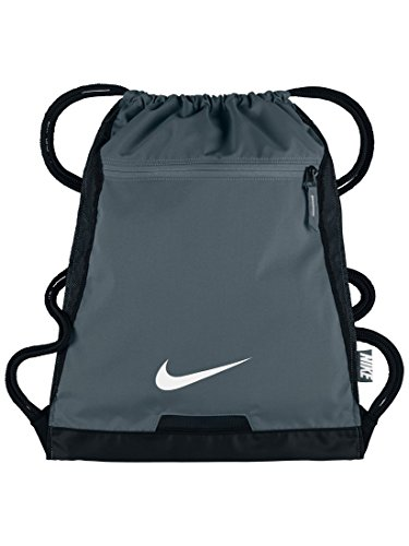 NIKE Men's Alpha Gym Sack (Flint Grey/Black/White)