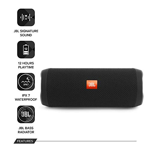 JBL Flip 4 Waterproof Portable Bluetooth image 2