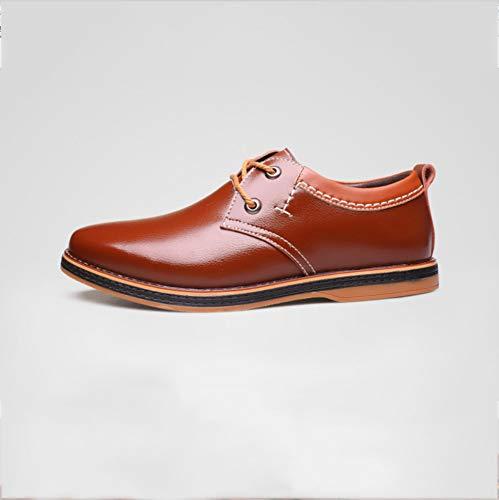 Marrone uomo WFL scarpe uomo da uomo da da casual da da pelle casual uomo Scarpe uomo in casual twwxqTBg