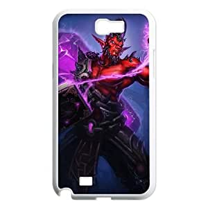 Samsung Galaxy N2 7100 Cell Phone Case White League of Legends Dark Crystal Ryze LK1568443