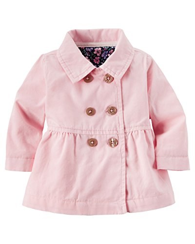 Carters Baby Jersey lined Canvas Peacoat