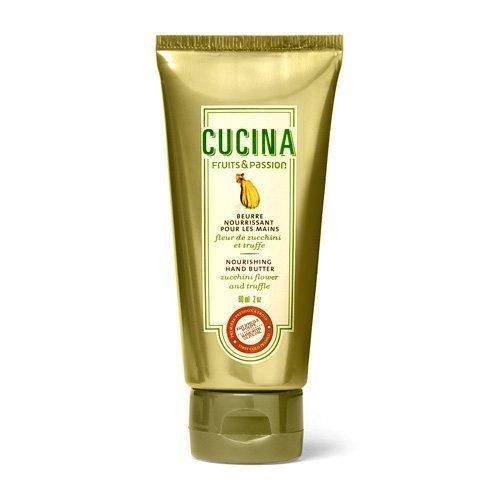 Cucina Fruits & Passion Nourishing Hand Butter Zucchini Flower and Truffle 2 oz Travel Size (Nourishing Passion Butter Hand)