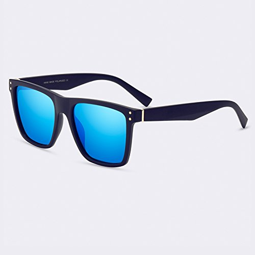 gafas polarizadas moda C04Blue C03Espejo Gafas hombres TIANLIANG04 gafas Vintage de de lentes sol masculina 5IZqx6g