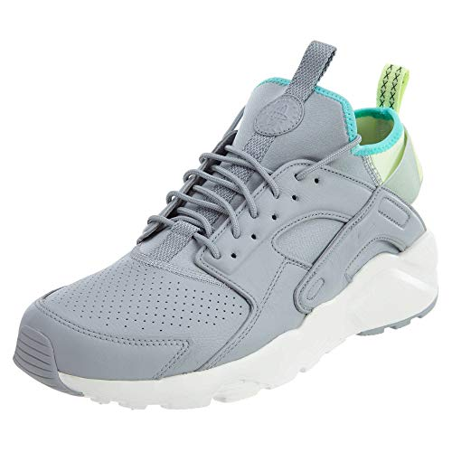 Nike Mens Air Huarache Run Ultra Se Low Top Lace Up Running, Grey, Size 7.5 (Nike Mens Air Trainer Huarache)