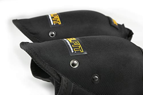 ToughBuilt GelFit Professional Knee Pads - Comfortable Gel Cushion & Heavy Duty Foam Padding, Strong Adjustable Straps, Premium Quality Built to Last (TB-KP-G2) (SnapShell compatible) NEW by ToughBuilt (Image #5)