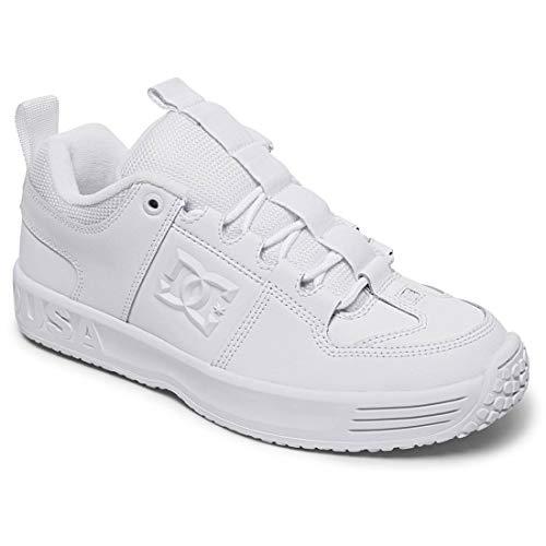 DC Shoes Men's Lynx OG Skate Low Top Sneaker Shoes White/White (ww0) 10