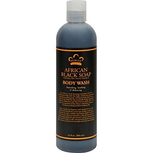 Nubian Heritage Body Wash African Black 13 fl. oz.(pack o...
