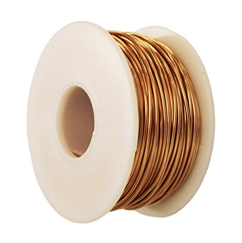 Bronze Round Wire 1 Lb Spool (Dead Soft) Gauges -16-18-20-22-24-26 / See Variations (26 Ga - 1260 Ft)