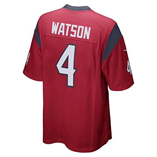 low priced 95e52 ebb71 Nike Deshaun Watson Houston Texans Game Jersey Red