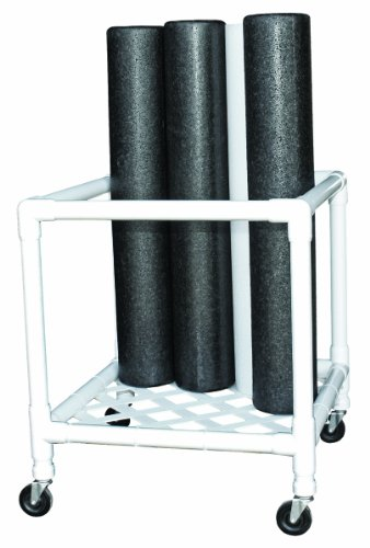 CanDo 30-2181 Foam Roller, Accessory, Upright Storage Rack, 24'' Width x 34'' Diameter x 30'' Height by Cando