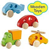 Best HaPe Toys For 2 Year Old Boy Woodens - Wooden Cars Infant Toys – Hape Wooden Toy Review