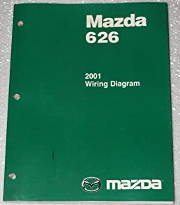 2001 mazda 626 wiring diagrams mazda amazon com books 2001 Mazda 626 Brake Light Wiring Diagram at 2001 Mazda 626 Wiring Diagram