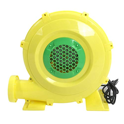 - 110V-120V 60Hz 6.2A 680W PE Engineering Plastic Shell Air Blower US Plug Yellow Powerful, Strong and efficient 680 watt Motor US Delivery