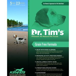 Dr. Tim's Premium All Natural Pet Foods Kinesis Grain Free Dog (Dr Tims Dog Food)