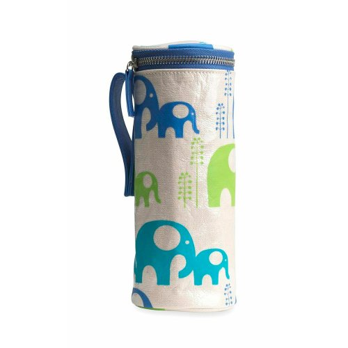 Apple & Bee Baby Bottle Holder, Elephants