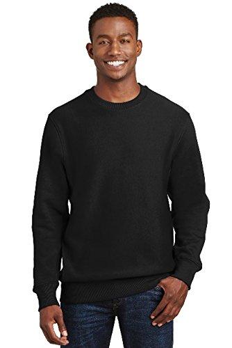 F280 Hoodie Sweatshirt - Sport-Tek 174 Super Heavyweight Crewneck Sweatshirt. F280 2XL Black