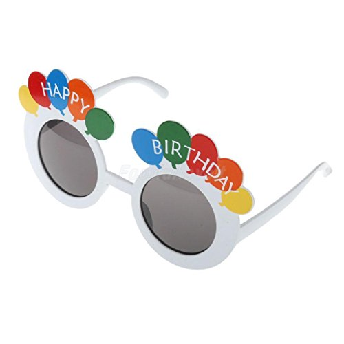 The King And I Fancy Dress Costumes (VIPASNAM-Happy Birthday Party Celebrating Fun Glasses Sunglasses Fancy Costume)
