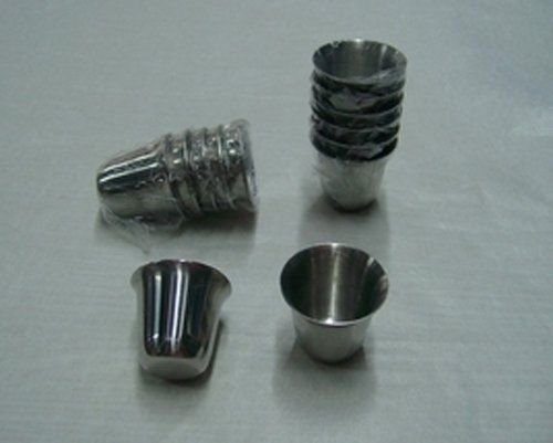 40 Pkg Steel Stainless Communion Cups Set Washable and Reusable Durable Worth the price Size 1 3/8