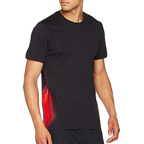 adidas Performance Mens Derrick Rose Onespark Basketball T-Shirt - Grey - 3XL