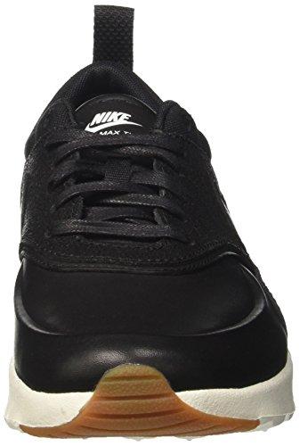 Nike Damen Wmns Air Max Thea Prm Sneaker Schwarz (nero / Nero / Vela / Gomma Marrone Marrone)