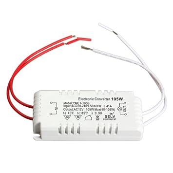 Coomir 20-60W 12V Halogen-LED-Lampe Elektronischer Transformator Scheinwerfer Adapter
