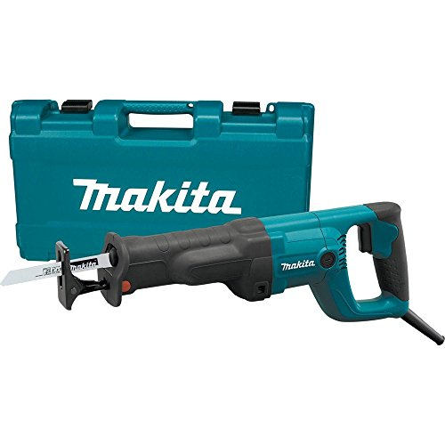 Makita JR3050TZ Recipro Saw with 11-Amp Tool Less Blade Change and Shoe Adjustment (Reciprocating Cordless Corded Saw)