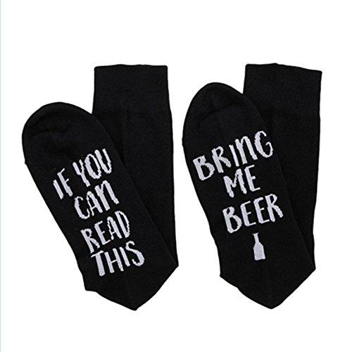 URIBAKE ❤ New Fashion Women's Men's Socks Stocking Autumn Winter Casual Funny Letters Printing Socks Creative Kntting Socks