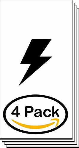 4 Pack, Laser-Plastic-Engraving-Sheets- Mattes White/Black 1/16 Blank Interior and Exterior Grade 2-Ply Plastic Engraving Blanks - Non Glare
