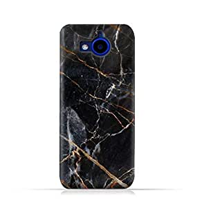 AMC Design HTC Desire 650 Dual Sim TPU Silicone Protective case with Grey Marble texture Design