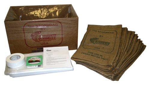 Stormtec Single Garage Door Stormbag Flood Protection Kit by Stormtec