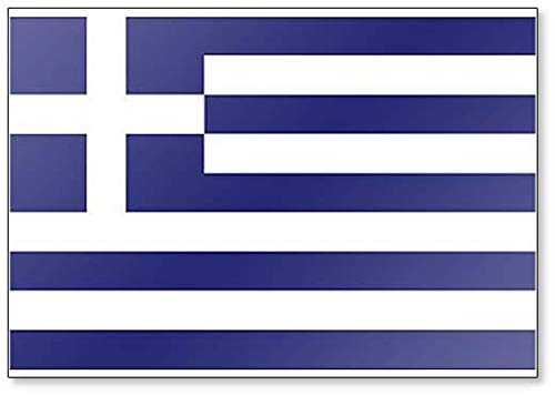 Greek Flag - Classic Fridge Magnet (Magnet Flag Greek)