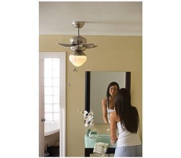Roman Bronze Micro 24 inch Ceiling Fan Indoor//Outdoor Monte Carlo 3TF24RB
