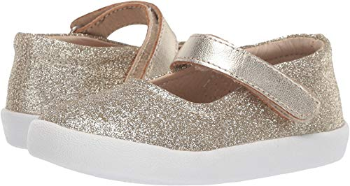 Old Soles Baby Girl's Missy Shoe (Toddler/Little Kid) Glam Gold 24 M EU ()