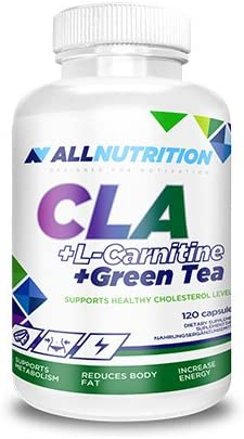 ALLNUTRITION CLA+L-Carnitine+Green Tea Fettburner Fettreduktion Sport Training Bodybuilding (120 Kapseln)
