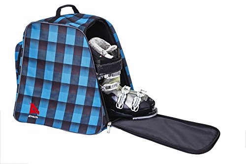 - Athalon Light 'n Go Boot Bag, Teal/Black