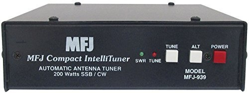 MFJ-939K Plug & Play 200W 1.8-30MHz HF Autotuner for Select Kenwood HAM Radios