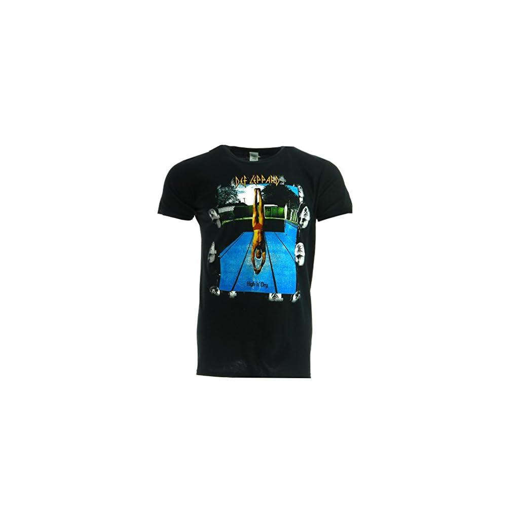 Def Leppard High Camiseta Oficial Con licencia