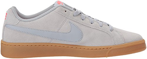 Suede Gris de Light NIKE Homme Court Grey Wolf gum Red solar Brown Wolf Grey Royale Chaussures Gymnastique qIwE0w