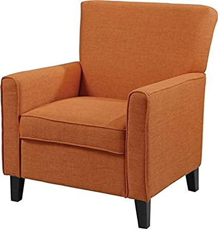 Simple Orange Accent Chair Gallery
