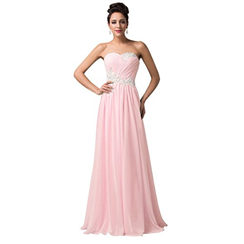 candy pink prom dresses - 2