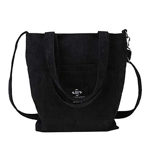Noir Femmes Loisirs Unique Sac Bandoulière GWQGZ Simple Black Provisions Sac À pour De Toile De Mode Sac À en XwqHqTR