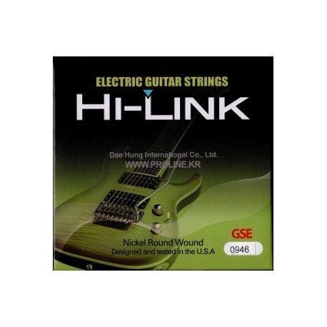 Traje de cuerdas Hi Link para guitarra eléctrica 09/46 09 46: Amazon.es: Instrumentos musicales