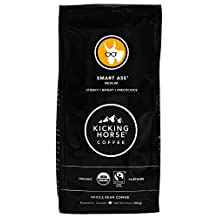 Kicking Horse Coffee, Smart Ass, Whole Bean Coffee, 10 Ounce