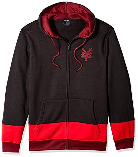 Zoo York Men's Logo Hoody Sweatshirt, Black, Large