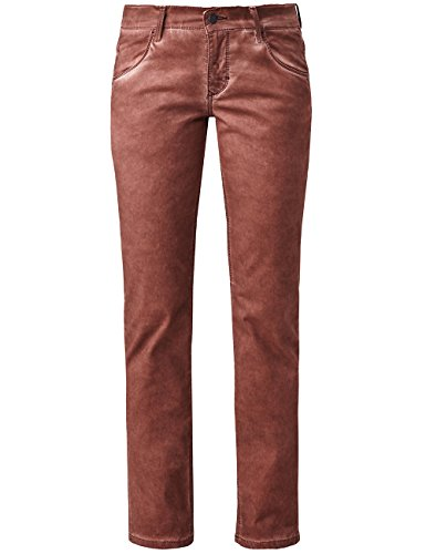 Cold Pioneer cayenne Dyed Rot Mujer Pepper Pantalones 878 Sally Para PnOqP0r