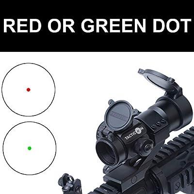 Tacticon Armament Predator V1 Red Dot Sight   Green Dot Sight   VETERAN OWNED   Rifle Optic Reflex Sight