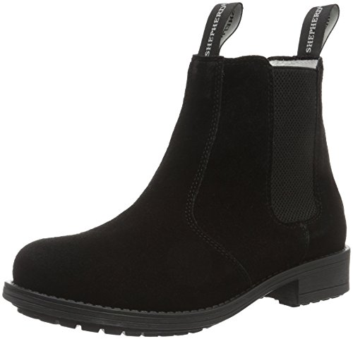 Shepherd Sanna Outdoor, Womens Boots Black (Black Suede 14)