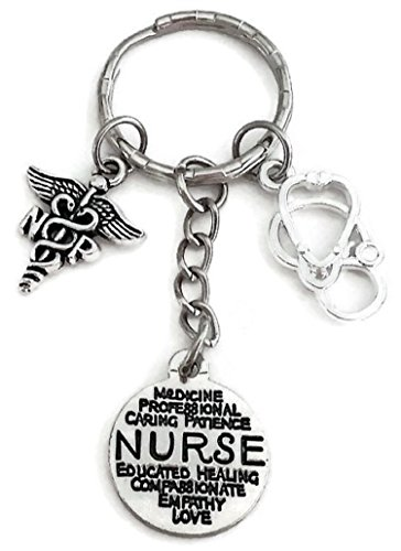 Practitioner Kit (NP Nurse Practitioner keychain, Nurse keychain, NP keychain, Nurse Practitioner keychain, Stethoscope keychain, Nurse key ring, NP Nurse Practitioner key ring)