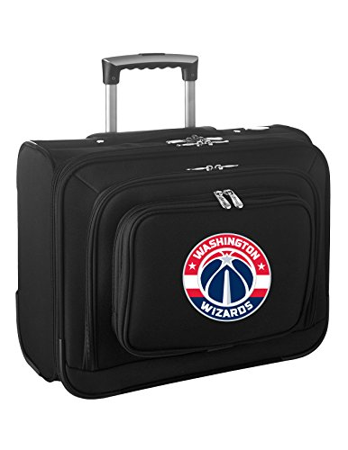 Denco NBA Washington Wizards Wheeled Laptop Overnighter by Denco