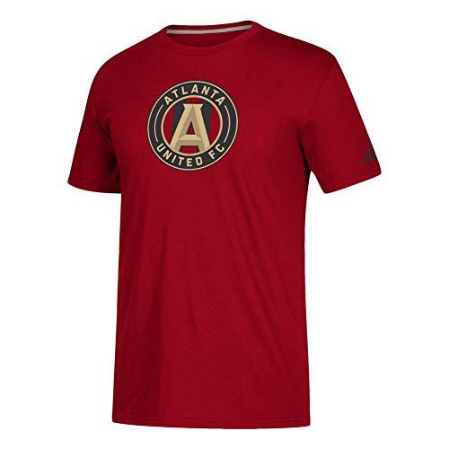 (adidas Atlanta United FC Locker Room Tee Squad Logo Tshirt (XXX-Large))